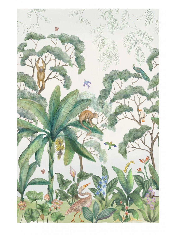 Jungle Wallpaper Mural Wallpaper, Wall wallpaper, Wall