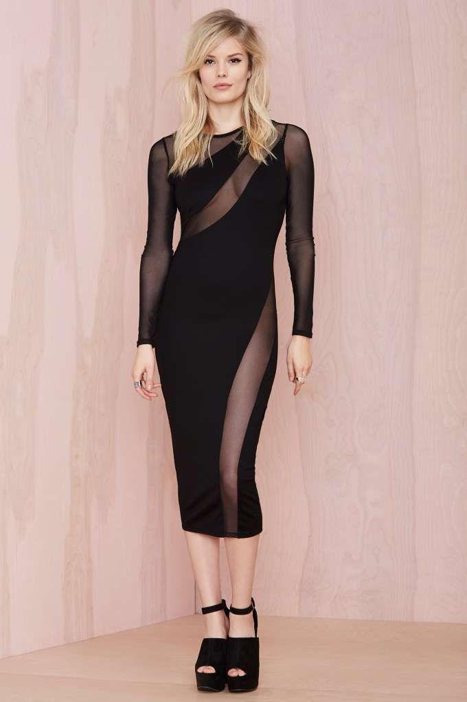 Nasty Gal Swerve Out Midi Dress | Shop Dresses at Nasty Gal ...
