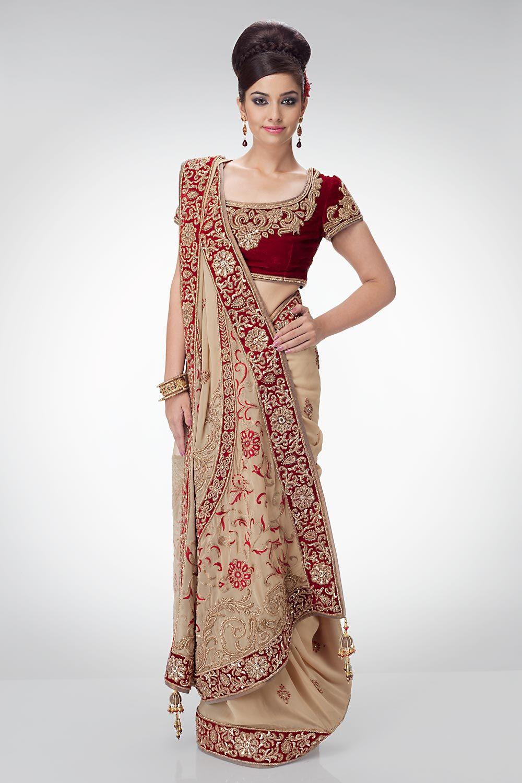 Latest Bollywood Fashion Saree Indian Designer Wedding Bridal Sari ...