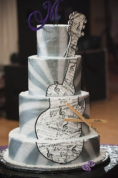 rock themed wedding cakes concert theme wedding guitar rock n roll wedding cake 19252
