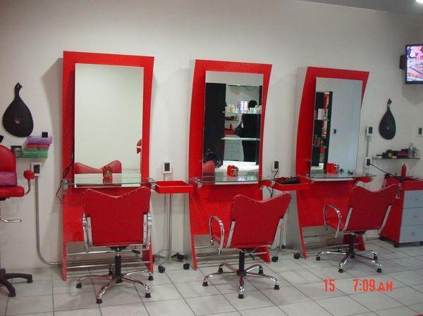 Muebles para estetica home recamaras ni as pinterest sal n sala de belleza y belleza - Ideas para decorar una peluqueria ...