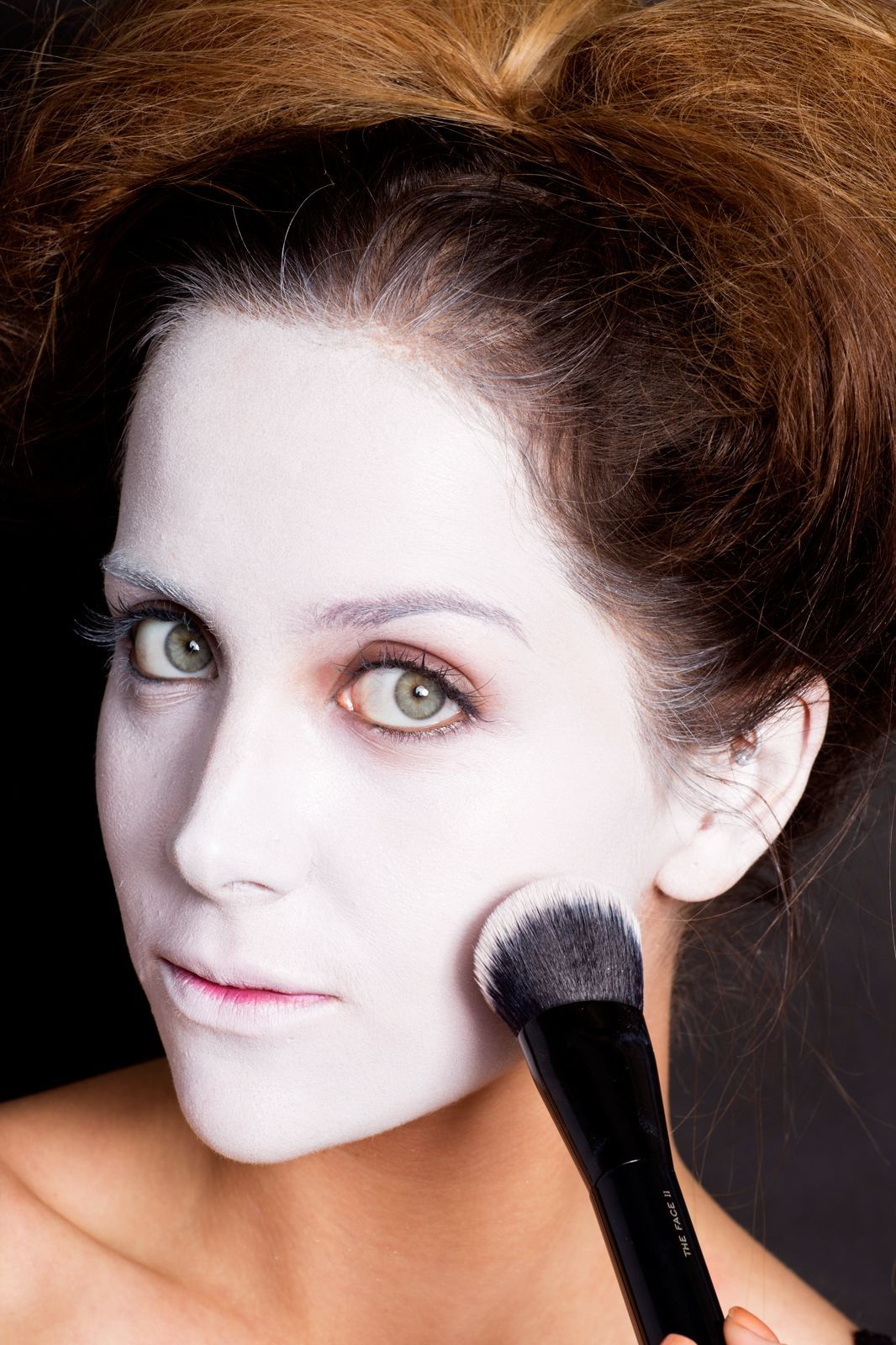 Flash Color Stick in 10 White Halloween costumes makeup