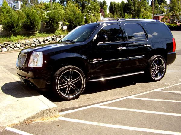 Black Yukon Denali With Black And Chrome Rims Forums