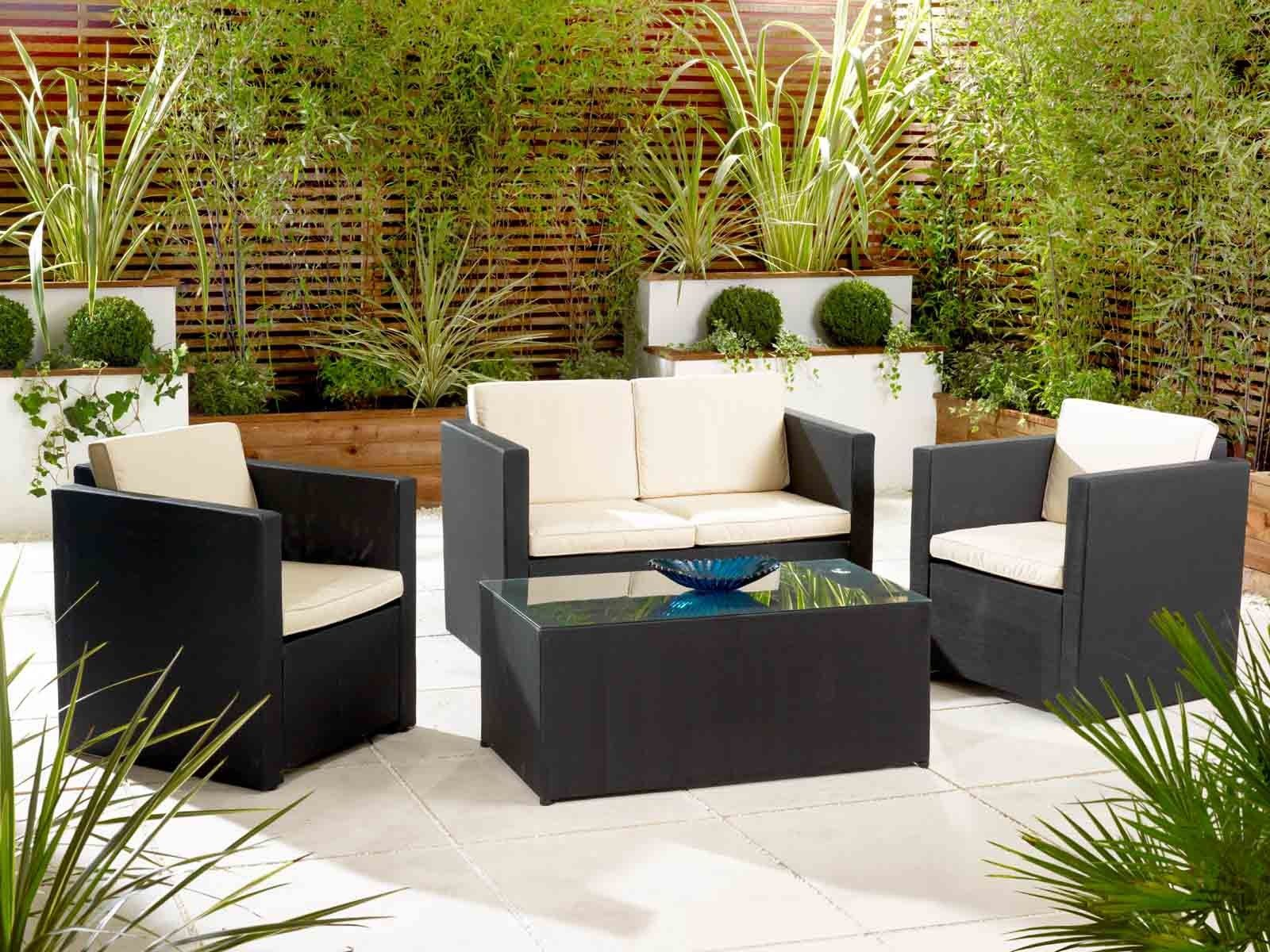 Exterior Design Furniture Cute Outdoor Patio Furniture Wicker With White Cushion De Outdoor Balcony Furniture Garden Furniture Inspiration Backyard Furniture