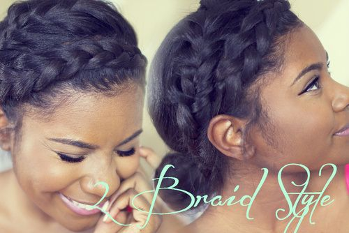Tremendous 1000 Images About Black Hair Braids On Pinterest Crown Braids Hairstyles For Women Draintrainus