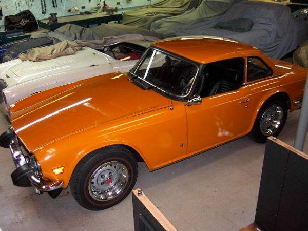 Basement Find: 1975 Triumph TR-6