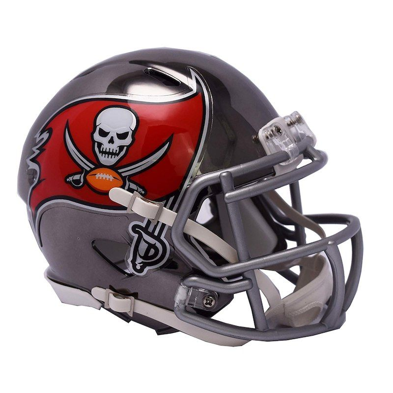 08f56cdb Riddell Tampa Bay Buccaneers Chrome Alternate Speed Mini Football ...
