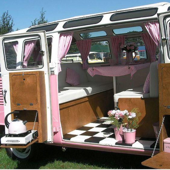 VW Camper Van Interiors + Http://archiduke.blogspot.com.br