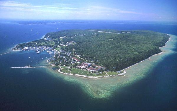Mackinac Island Aerial Photo Of Mackinac Island Mackinac County Michigan Mi United Mackinac Island Mackinac Island Michigan Mackinac