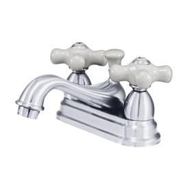 kingston brass chicago polished chrome 2 handle 4 in centerset rh pinterest com
