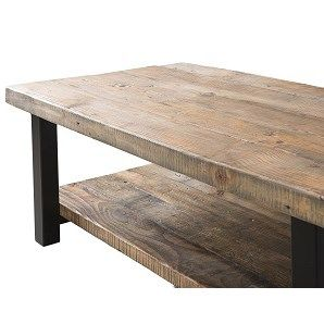 Alaterre AMBA1120 Pomona Coffee Table in Rustic Natural