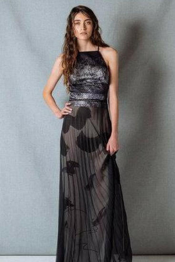 Kazumi open back maxi dress wedding guest outfit ideas pinterest