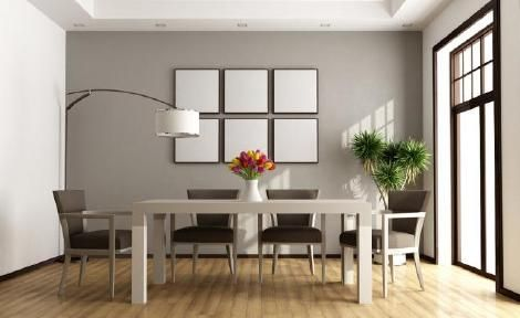 Aprende como realizar la decoraci n de una comedor moderno for Comedor completo a la meta