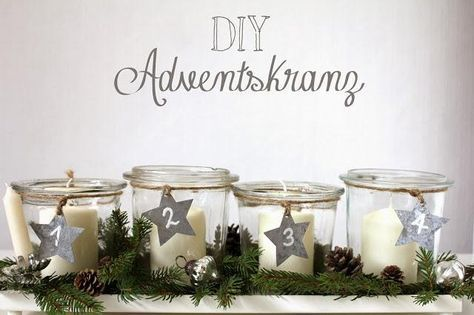 diy adventskranz kreativ adventskr nze deko. Black Bedroom Furniture Sets. Home Design Ideas