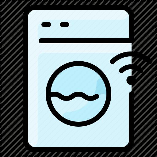 Machine Network Smart Washing Wifi Icon Download On Iconfinder Wifi Icon Icon Wifi