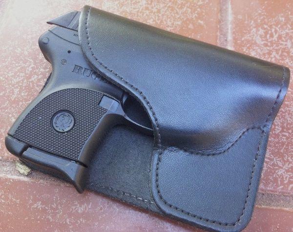 DeSantis Trickster back pocket holster for Ruger LCP#Repin
