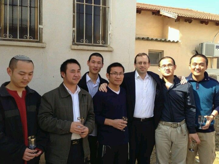 These 6 Chinese Jewish descendents from Kaifeng, China are returning to Judaism. They are on their way to the mikvah.