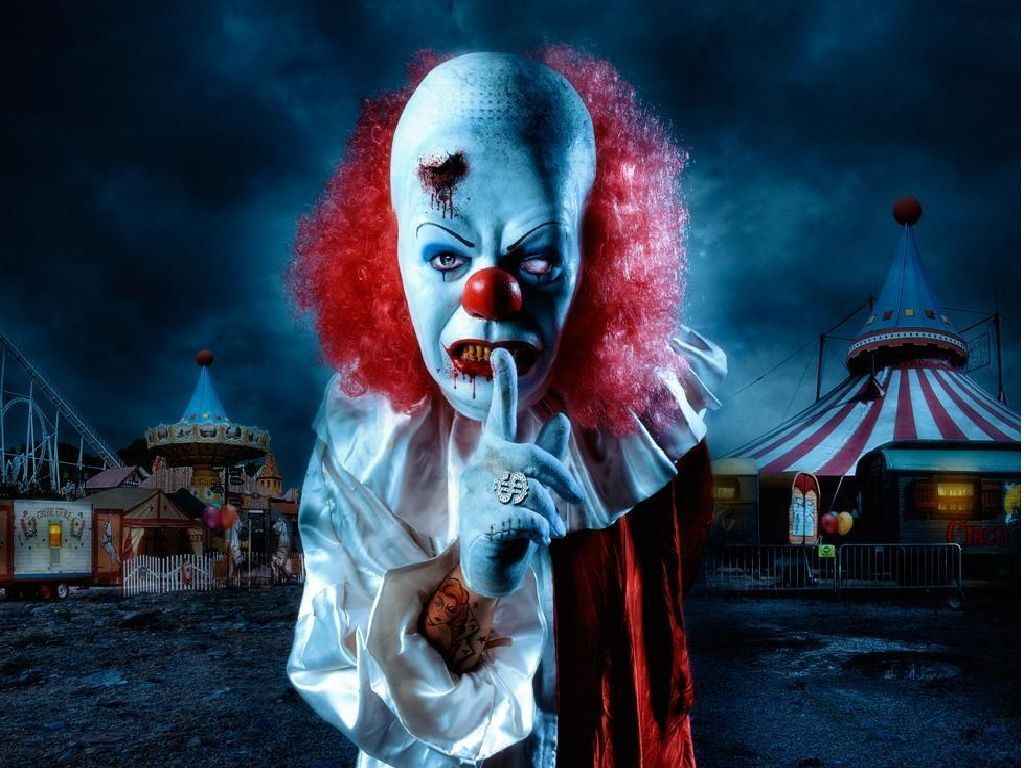 #horror #scary #creepy Stephen King  It, Clown