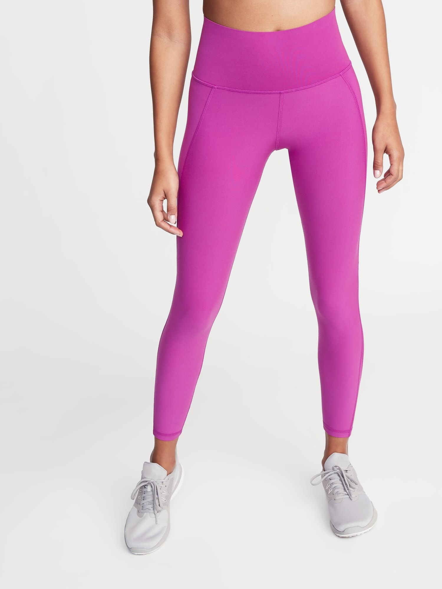 0f7cdb8475 High-Rise Elevate Built-In Sculpt 7/8-Length Compression Leggings for