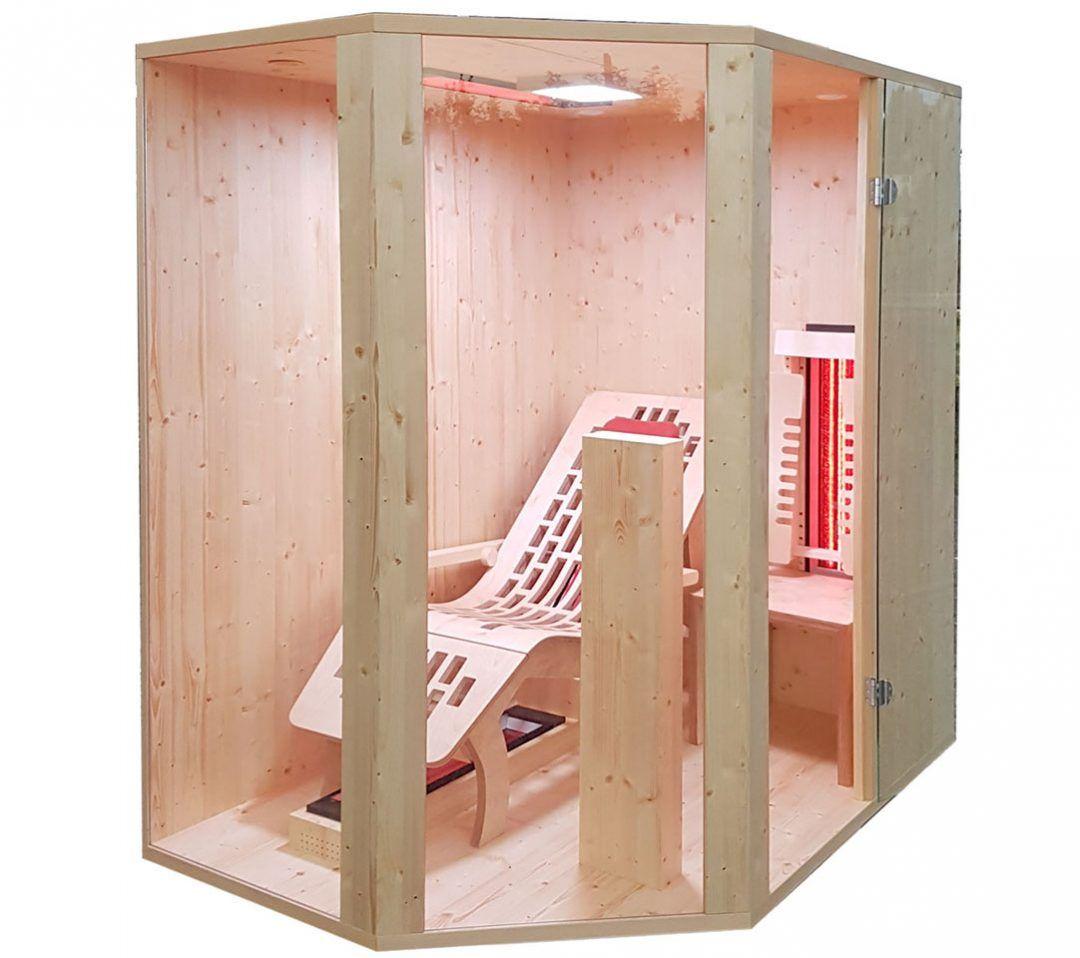 Pin Von Gurtner Wellness Gmbh Auf Infrarotkabine Sauna