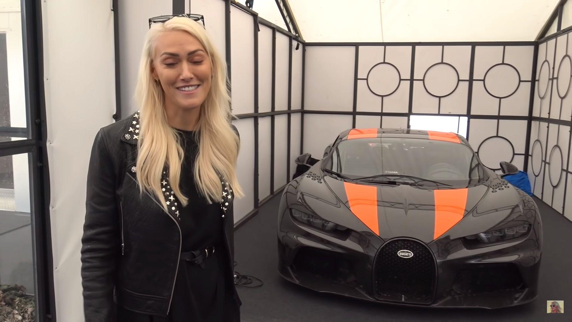 Supercar Blondie And The Bugatti Chiron Sport 300 Too Much Hot In One Video Top Speed Bugatti Chiron Super Cars Bugatti