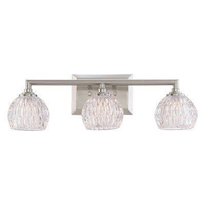 Quoizel Platinum Collection Serena PCSA8603BN 3 Light Bathroom Vanity Light - PCSA8603BNLED