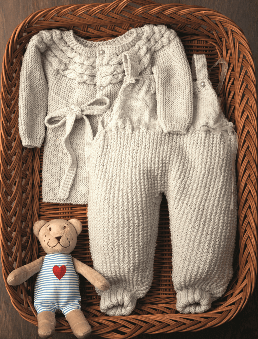 conjunto_bebe_merinland | Knitting | Pinterest | Tejidos bebe, Bebe ...