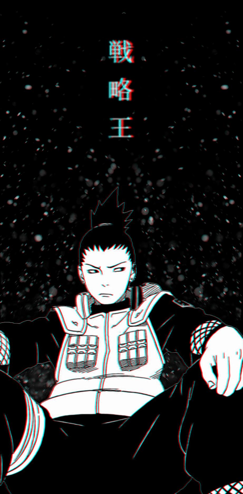 My First Edit I Made It Because I Saw Many People Asking For It Naruto Anime Manga Naruto Wallpaper Anime Wall Art Shikamaru Wallpaper