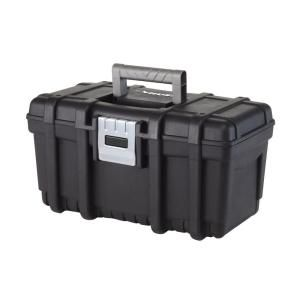 Husky 16 In Tool Box With Metal Latch 209267 At The Home Depot Mobile Tool Box Portable Tool Box Plastic Tool Box