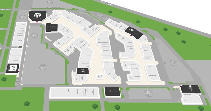 Lighthouse Place Premium Outlets Shopping Plan With Images Premium Outlets Michigan City Lighthouse