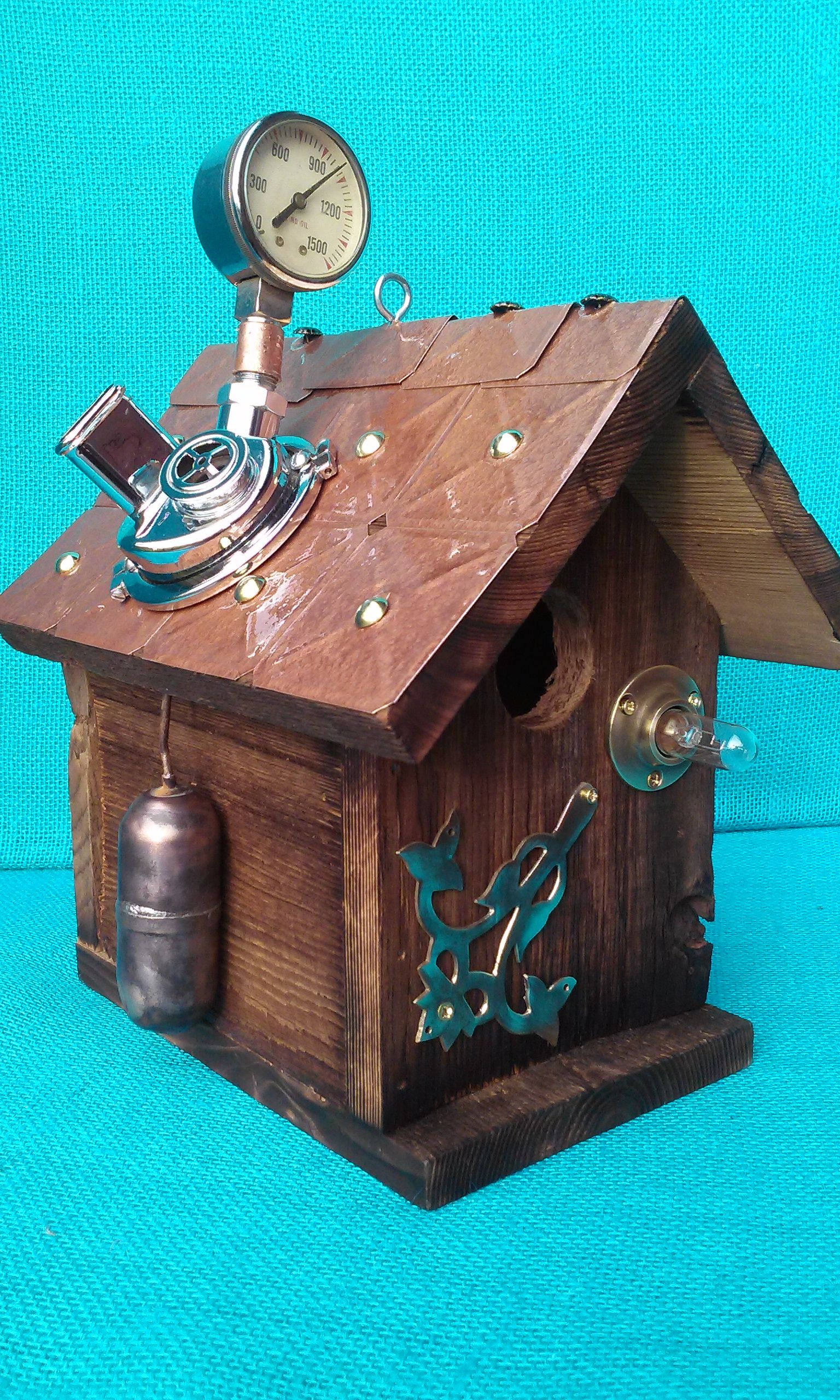 steampunk scuba house.  this item has sold
