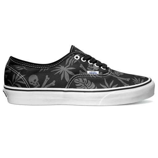 bed09069dc6378 Vans Mens Authentic Shoes (Van Doren Black Aloha Skull)  45.95 ...