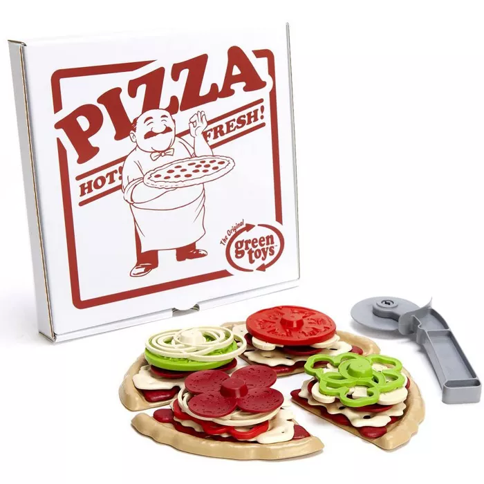 Green Toys Pretend Play Pizza Parlor Set in 2020 Play