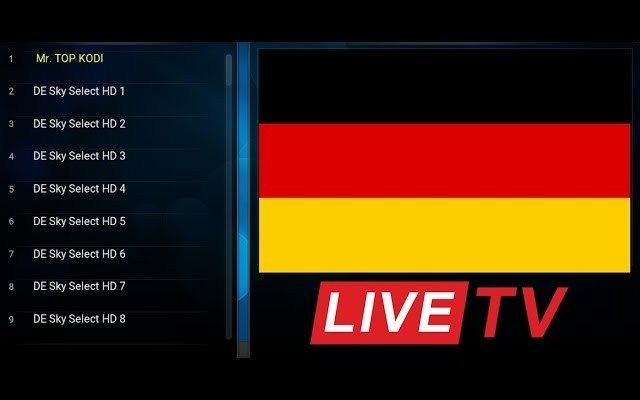 BEST LIVE TV ADDON FOR KODI DECEMBER 2016- GERMANY CHANNELS