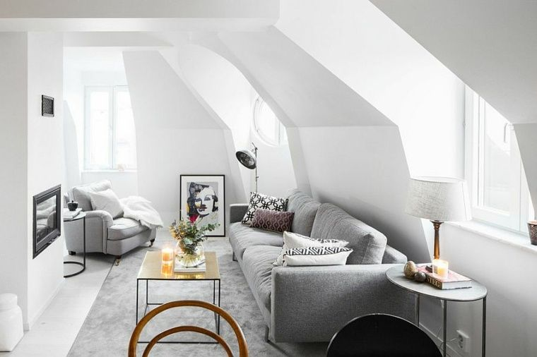 Idée déco salon  le salon en style scandinave Living rooms and Room - idee deco salon appartement