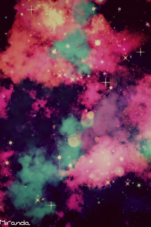 Image About Galaxy In Wallpaper By Selene Pink Colors
