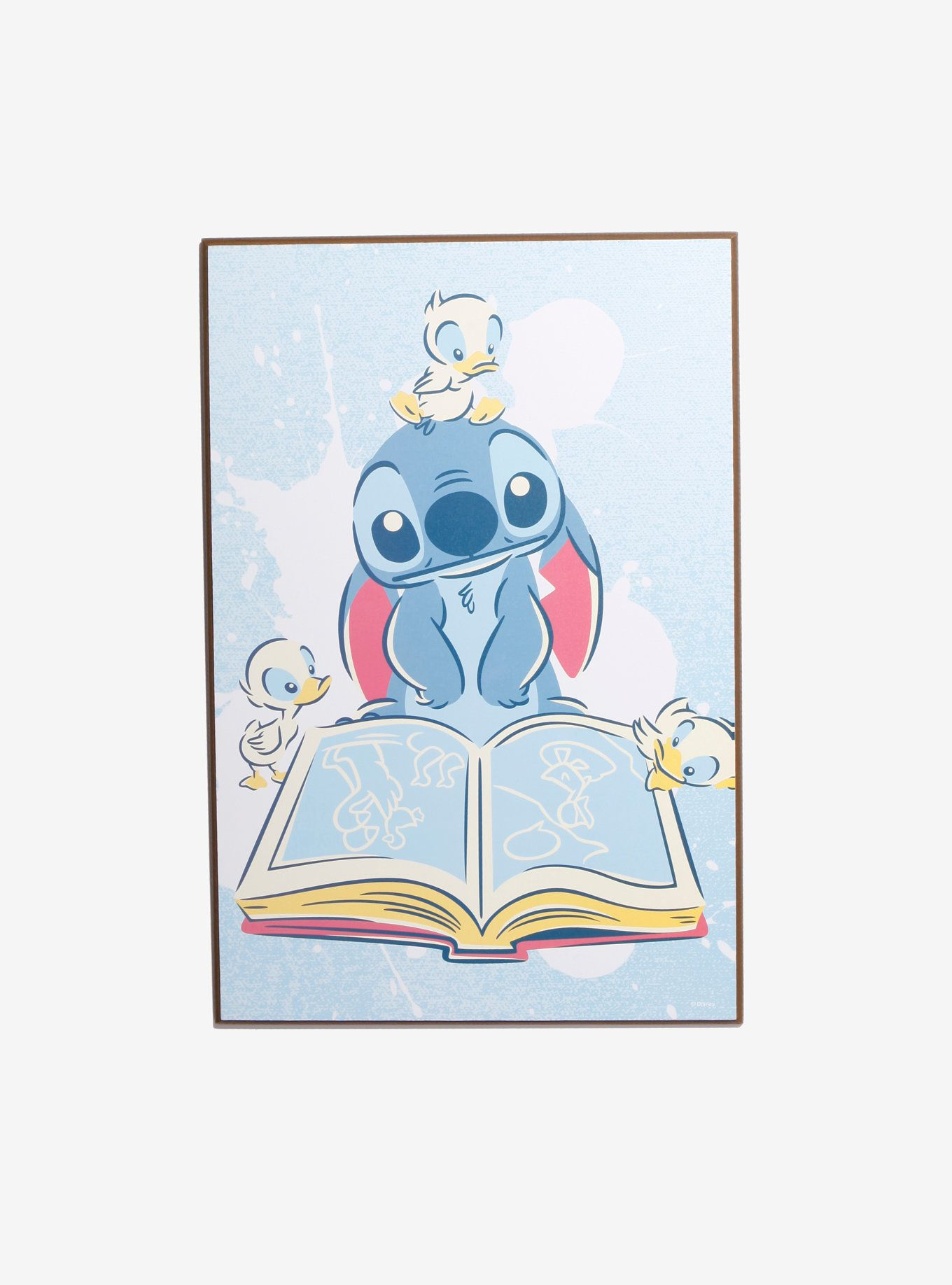 Disney Lilo Stitch Ducks Wood Wall Art Lilo And Stitch Nursery Illustration Vintage Nursery Themes