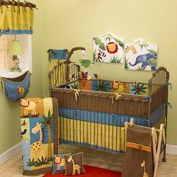Cotton Tale Paradise 4-piece Crib Bedding Set