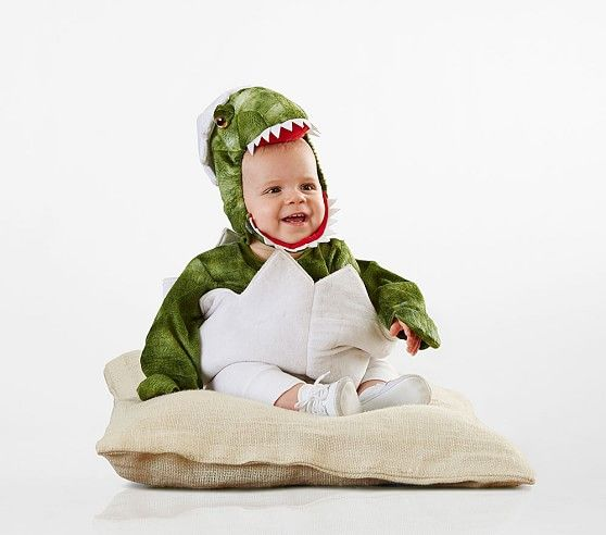 Baby Green Dinosaur Egg Costume #dinosaurpics