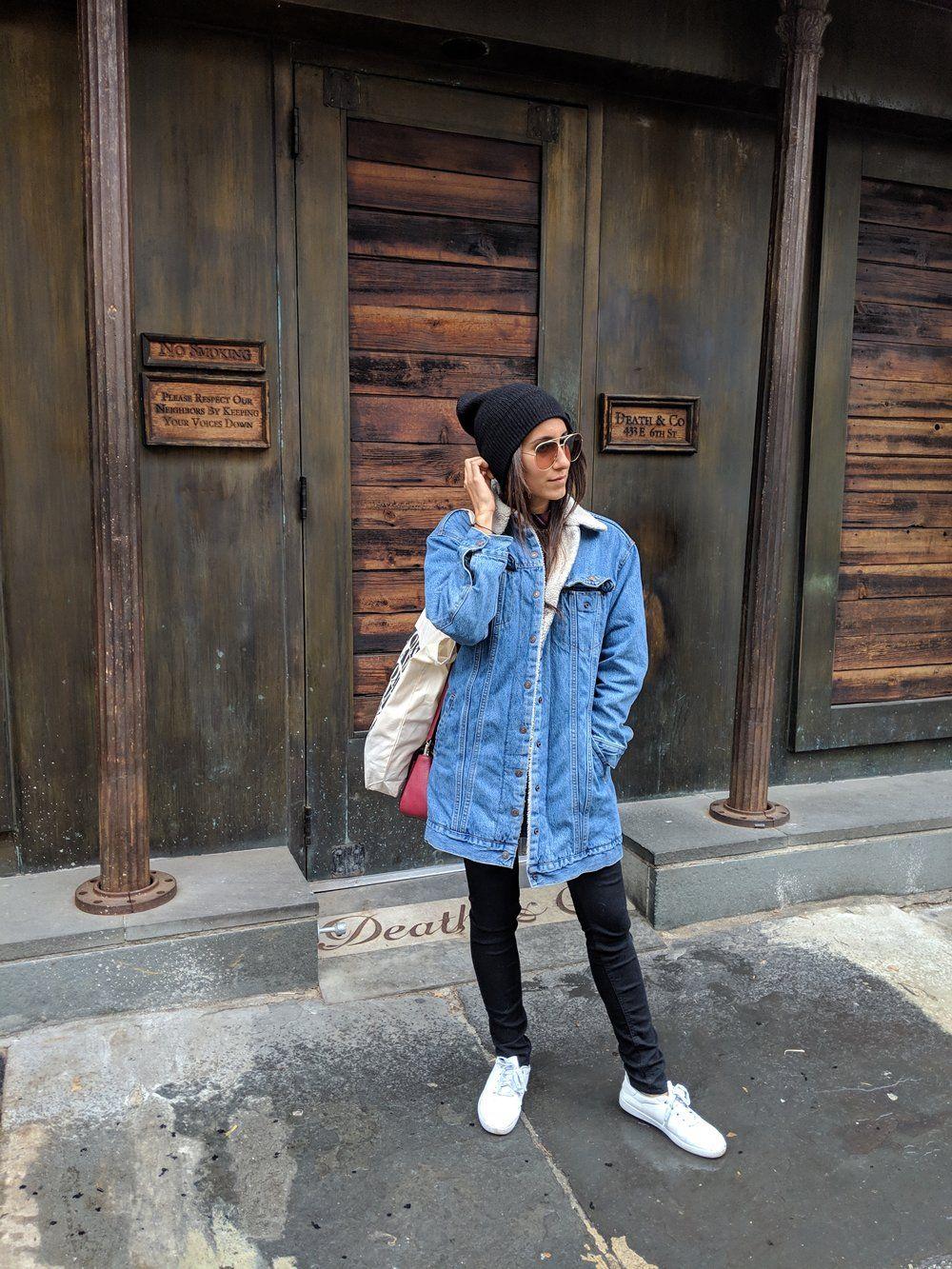08c03decfc8 Wearing  Levi s Jacket ( similar )