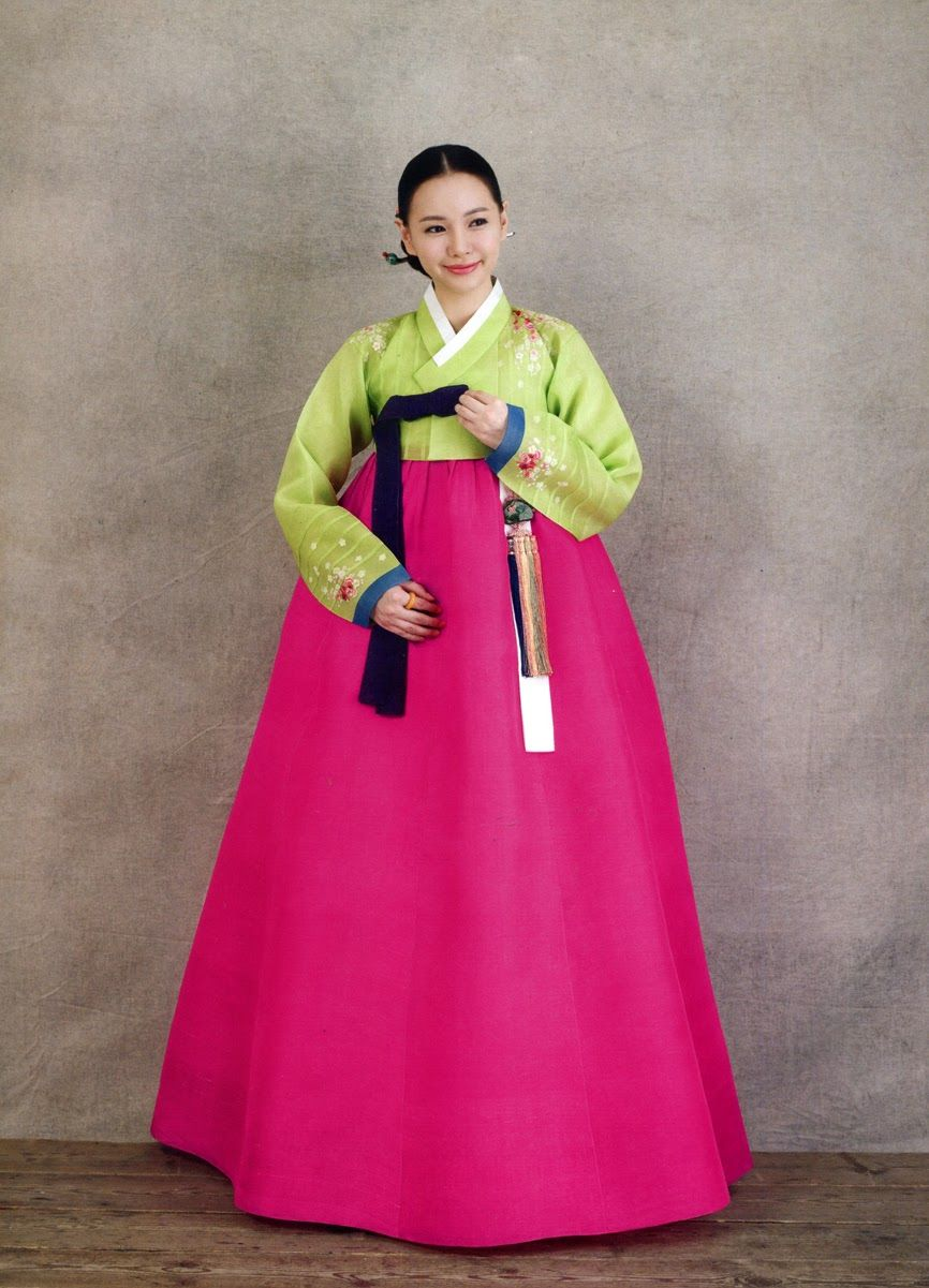 the traditional clothing in korea and A hanbok (south korean) or joseon-ot (north korean) is a traditional korean dress for semi-formal or formal attire during traditional occasions such as festivals, celebrations, and ceremonies it is characterized by vibrant colors and simple lines without pockets although the term literally means korean clothing, hanbok usually refers specifically to clothing of the joseon period.