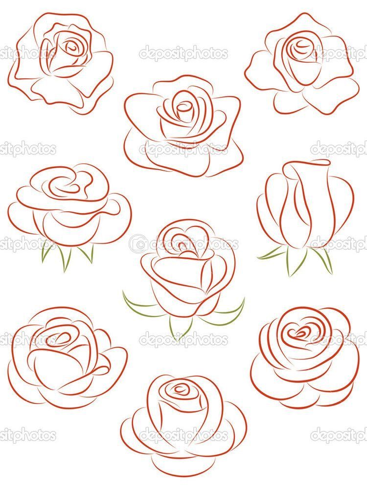 create a rose for nails | nails in 2019 | Drawings, Art ...