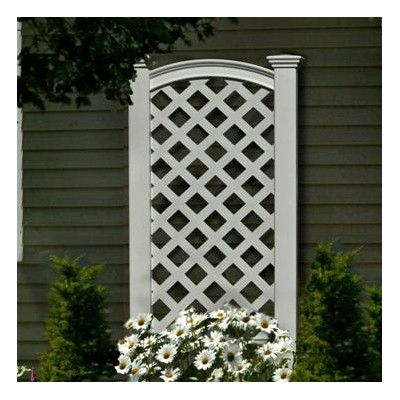 Luxembourg Vinyl Lattice Panel Trellis Vinyl Lattice Panels New England Arbors Garden Trellis