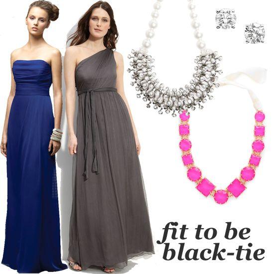 What To Wear To A Black Tie Wedding Black Tie Dress Event Dresses Black Tie Optional Attire