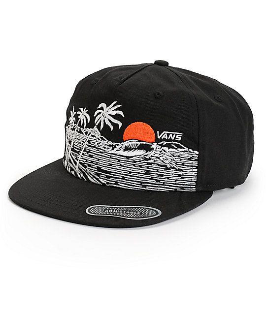 0dbf819888a03 Vans Settle Down Zip back Hat. white beach