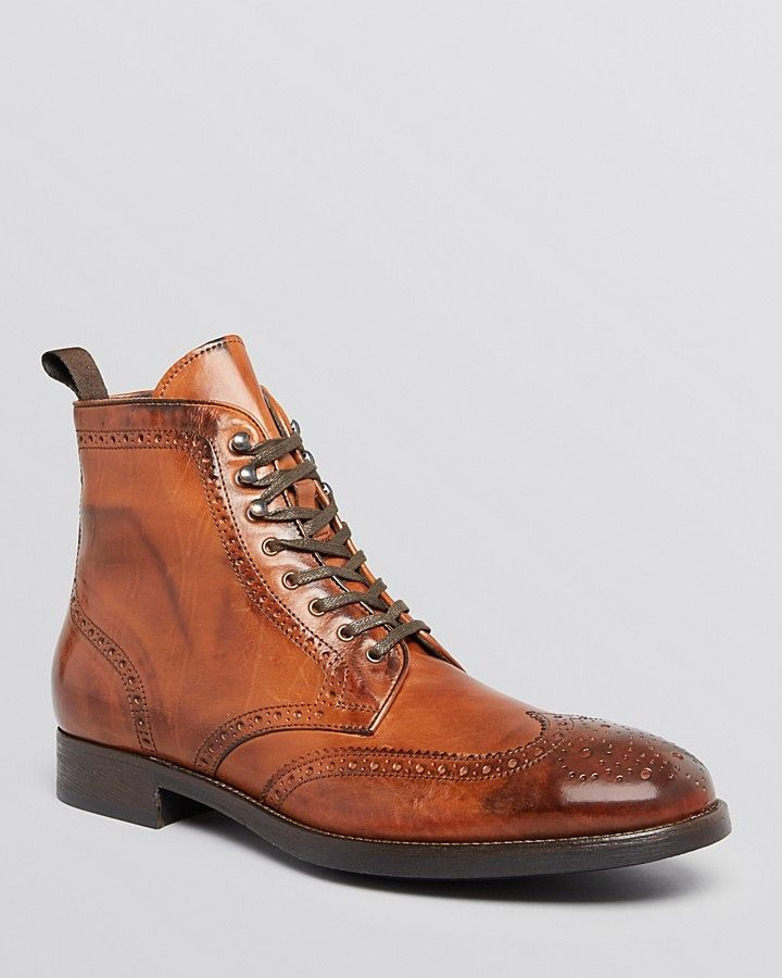 6c1fe18e424 Pin by Lookastic on Brogue Boots & Combat Boots | Best shoes for men ...
