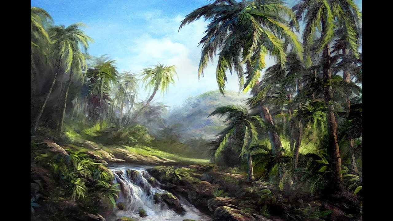 Have You Ever Wanted To Learn How To Paint Palm Trees