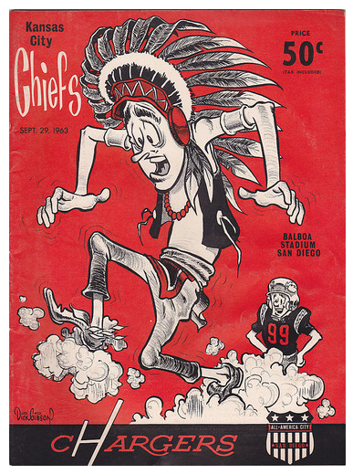 Kc Chiefs Program Graphic Design Typography Illustration