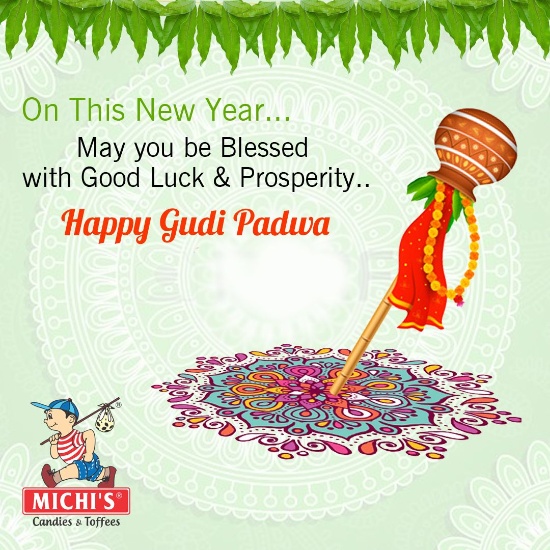 Happy Gudi Padwa Festival Wishes From Michis Pinterest