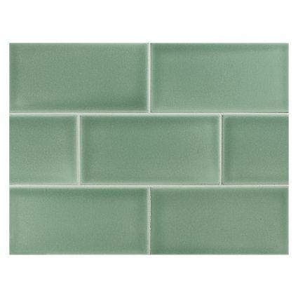 Sage Green Tile Colorful Bathroom Tile Green Tile Backsplash